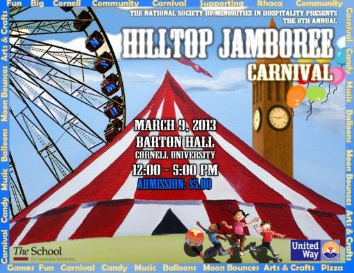 Hilltop Jamboree 2013 Flier